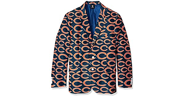 Shinesty El Chicago Bears Chaqueta y Corbata, Azul y Anaranjado ...