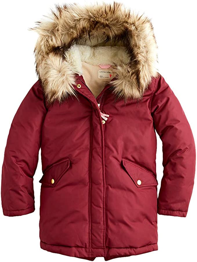Toddler//Little Kids//Big Kids crewcuts by J.Crew Girls Teddie Vest Faux Fur