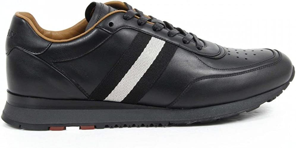 falta de aliento sombrero Figura  Bally Bally Mens Sneaker ASTON/300 6205279 NERO: Amazon.co.uk: Shoes & Bags