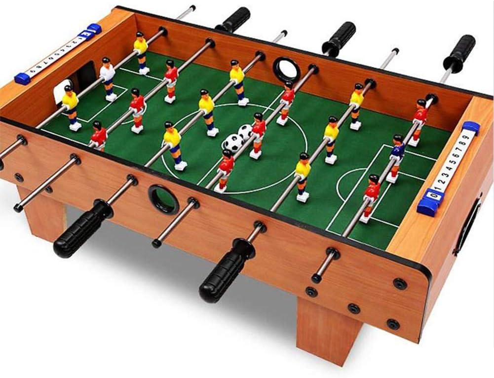 BXWQPP 6 Filas Futbolín Juego de Mesa de Madera con Patas Apoyo Baby Foot Infantil para Niños Fútbolista Deporte Patada de Mesa Mesa de Fútbol Futbolín de Sobremesa: Amazon.es: Hogar