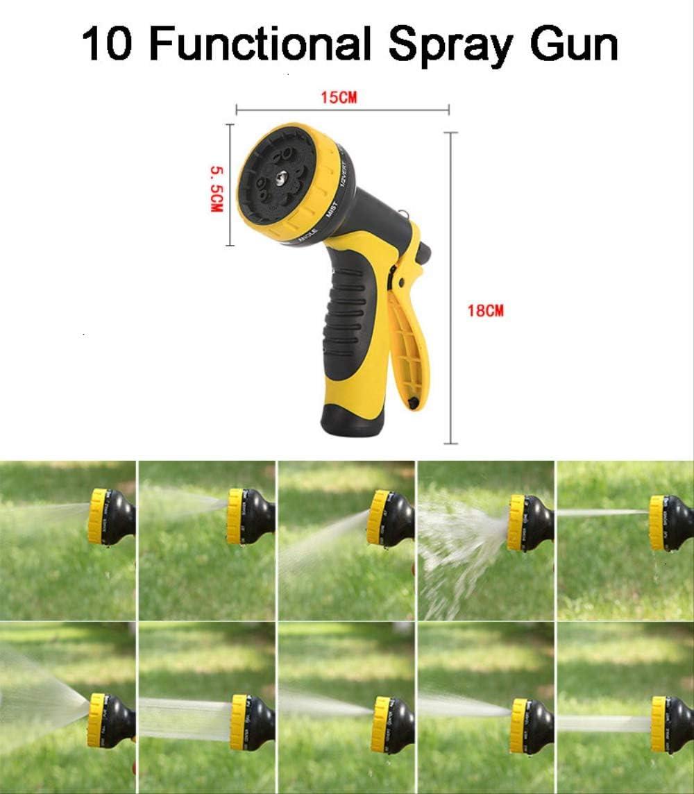 Vimmor 50ft Garden Hose Flexible Expandable Hose Garden Water Hose Magic Watering Hose Car Washing Hose Pipe With Spray Gun Hose with Spray Gun A