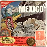 Mexico 3d View-Master 3 Reel Packet with Coin & Stamp
