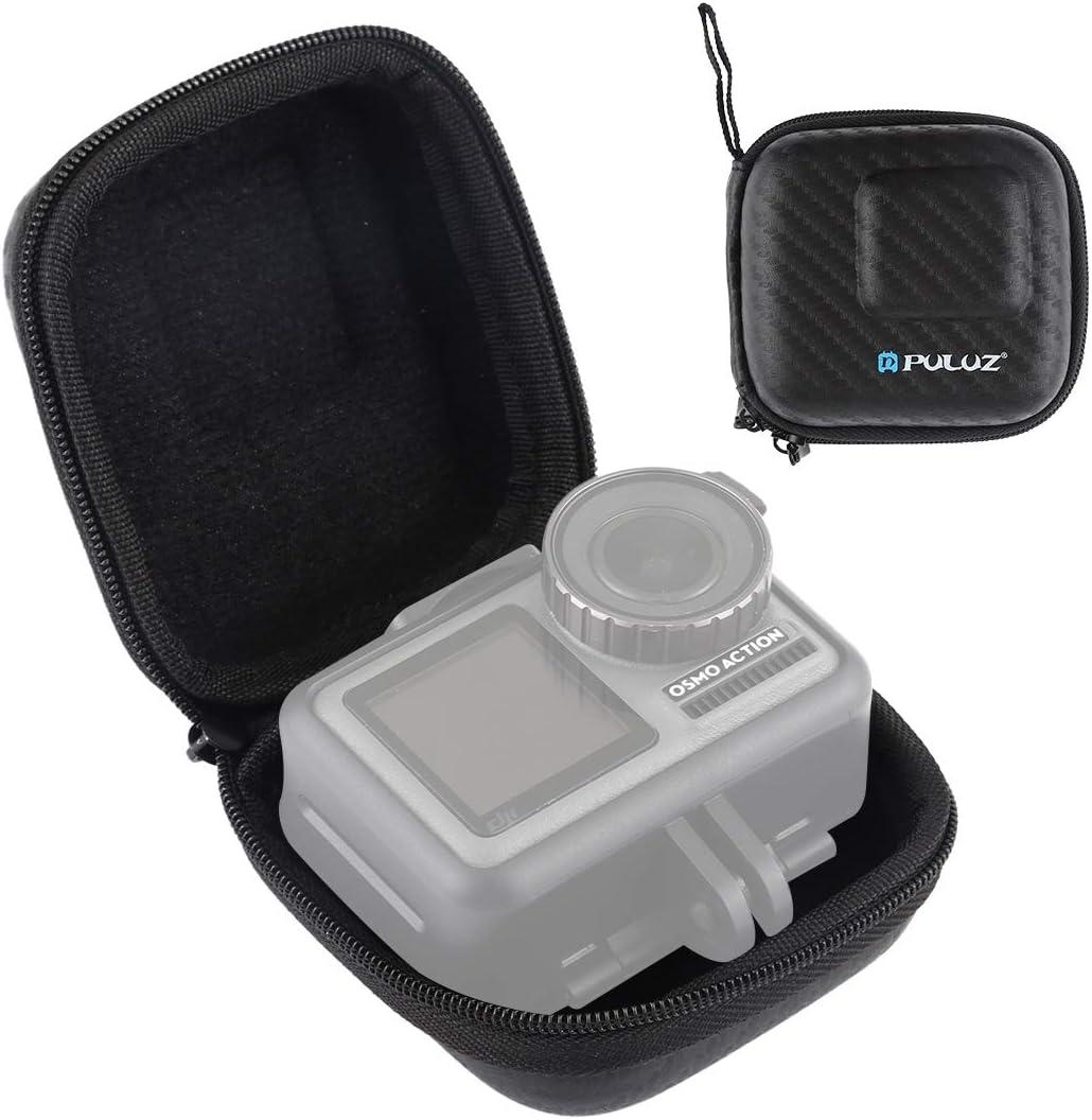 for DJI Gopro Action Camera Mini Portable Carbon Fiber Storage Bag for DJI New Action