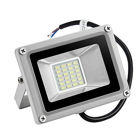 Foco proyector LED 20W para exteriores, 1500LM, Blanco frio 6000 ...