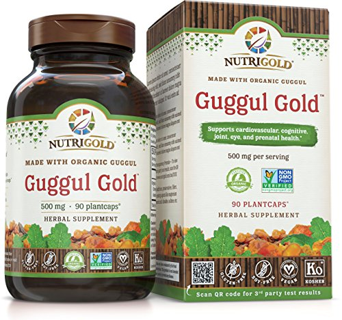 NutriGold Guggul Gold, 500 mg, 90 Plantcaps