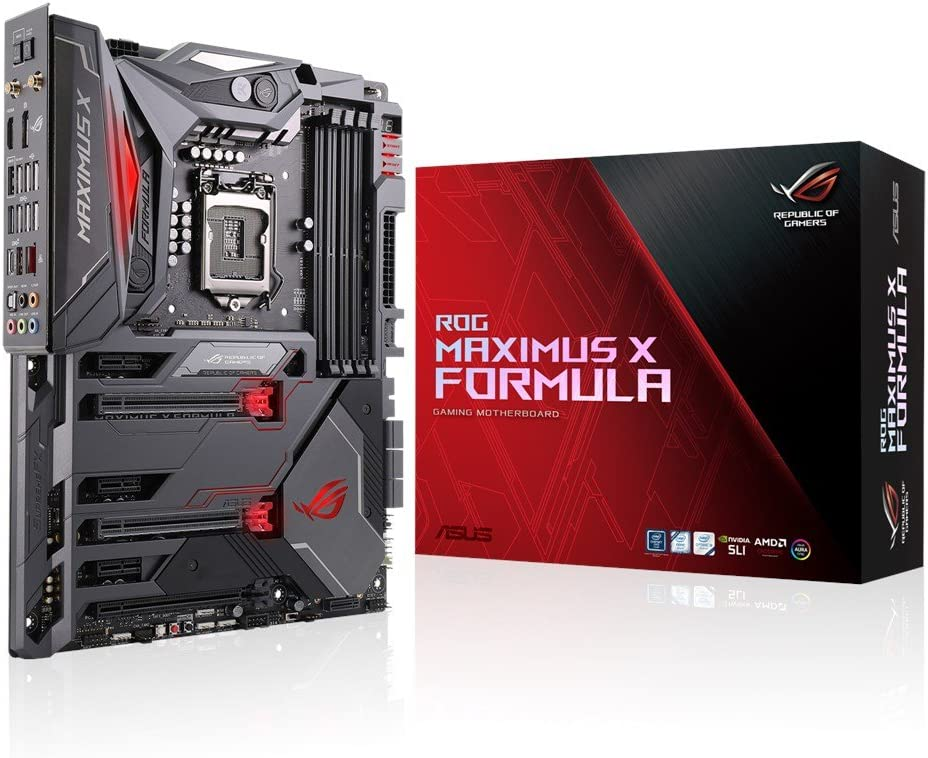 Asus Intel Z370 ATX - Placa base gaming con water-cooling features, Aura Sync RGB LEDs, DDR4 4133MHz, 802.11ac Wi-Fi, dual M.2 y USB 3.1 Gen 2