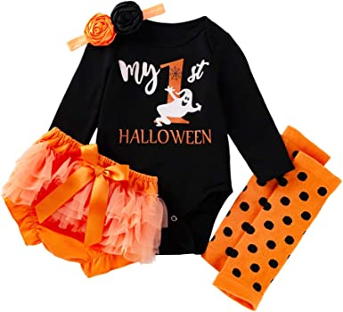 Newborn Baby Girl Halloween Tutu Outfit Tutu Purple Halloween Baby Girl Outfit BOO Halloween Baby Outfit It/'s My First Halloween Outfit