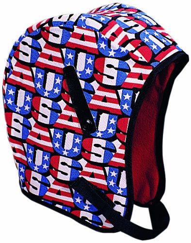 Mutual WL3-210 Kromer Hard Hat Winter Liner with USA Regular Nape, Red/White/Blue