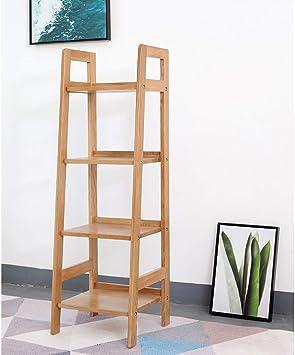 L.BAN Moderna Estantería Escalera Librería Organizador Multifuncional con 4 Estantes para Sala de Estar, Dormitorio, Cocina: Amazon.es: Deportes y aire libre