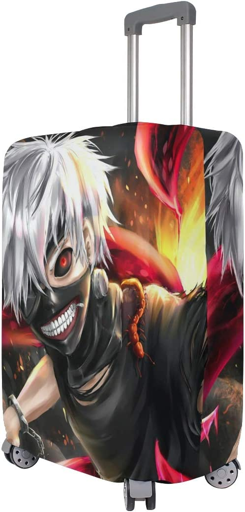 Tokyo Ghoul suitcase cover elastic suitcase cover zipper luggage case removable cleaning suitable for 29-32 trunk cover