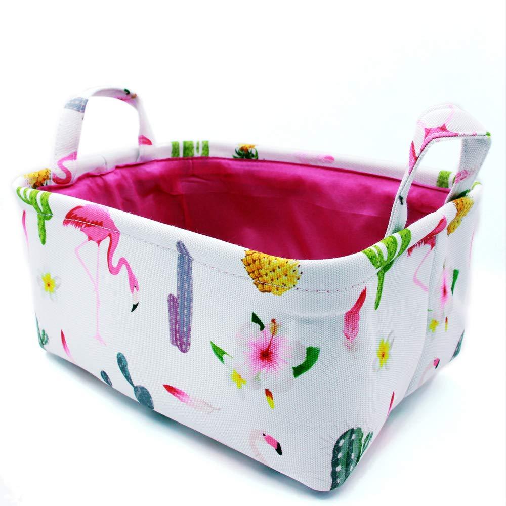 Cute Animal Collapsible Toy Storage Organizer Folding: VircleK Decorative Basket Rectangular Fabric Storage