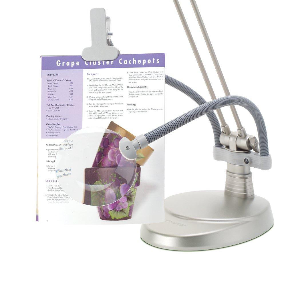 Craft floor lamp with magnifier floor matttroy for Ottlite 3 in 1 craft floor lamp