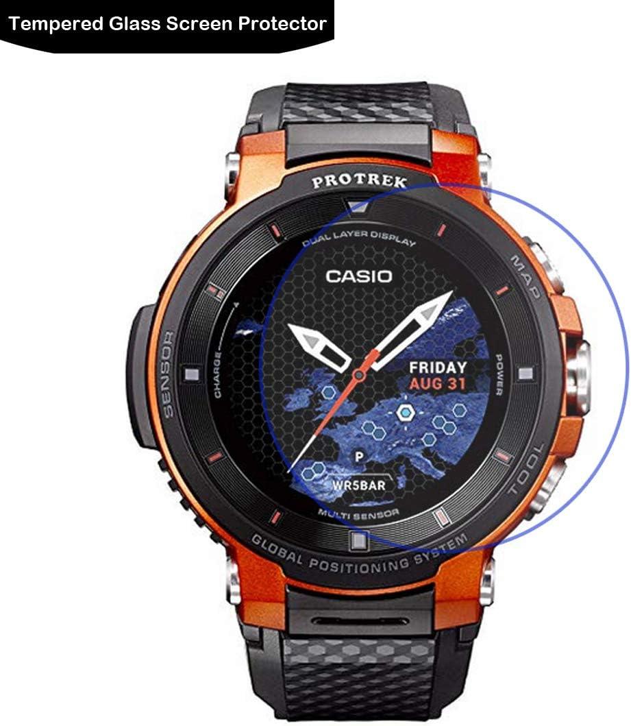 LOKEKE Protector de pantalla de vidrio templado premium para Casio ...