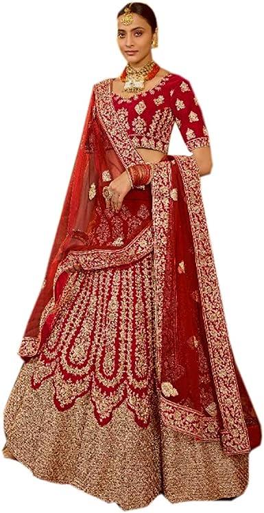 Designer lehenga choli wedding lengha function wear lehenga choli embroidered lengha choli lenga chania choli party wear bridesmaid dress 1