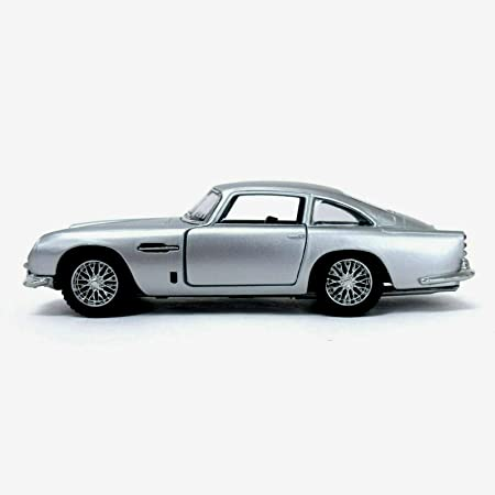 Autos Kinsmart Druckguss 1 38 1963 Aston Martin Db5 Silber Reibung Motor öffnen Türe Karrizoind