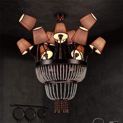 Vintage Lámparas Grandes Lámparas De Techo Retro Antique ...