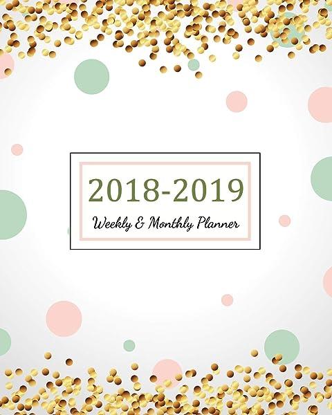 Amazon.com: 2018 - 2019 Academic Planner: 2018 - 2019 Two ...