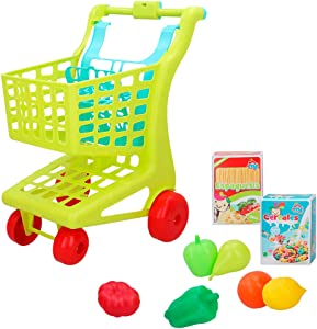 ColorBaby - Carrito supermercado con alimentos My Home Colors (49056)