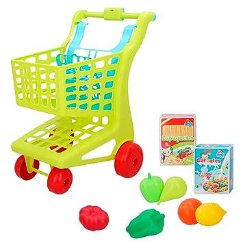 ColorBaby - Carrito supermercado con alimentos My Home Colors (49056)