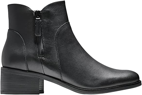 Cole Haan Womens Lyla Leather Ankle