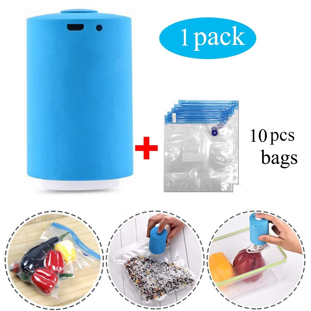 Amazon.com: xiaopai Bomba de vacío de compresión automática ...