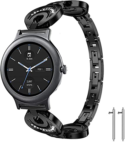 Amazon.com: Lamshaw Smartwatch bandas LG reloj estilo, nueva ...