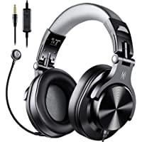 OneOdio Computer Headsets with Mic - Wired Over Ear PC Headphones with In-Line Control Mute & Detachable Microphone for…