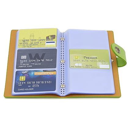 Amazon btsky book style credit card holder business name card btsky book style credit card holder business name card book id card organizer for colourmoves
