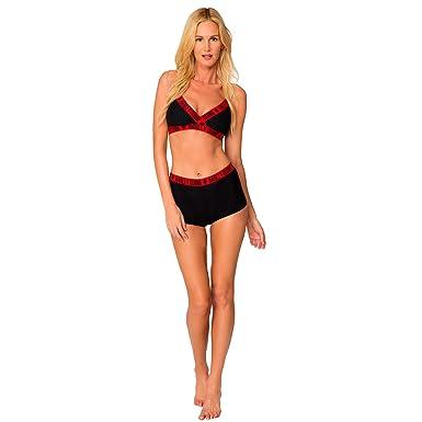 04e63b3bd5bb Amazon.com: Harley Quinn Underwire High Waist Bikini: Clothing