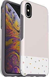 OtterBox Symmetry Series Case for Apple iPhone Xs / X - Party Dip Graphic / Pink