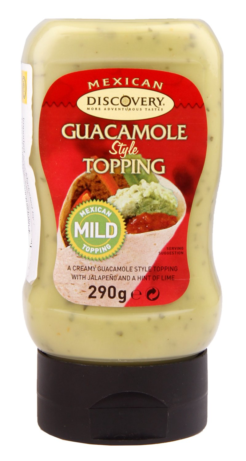 Discovery - Mexican - Guacamole Style Topping - 280g: Amazon.com: Grocery & Gourmet Food