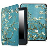 "Fintie Case for All-New Kindle E-reader (8th Generation 2016) - The Thinnest and Lightest SmartShell Cover Auto Wake/Sleep for Amazon All-New Kindle (6"" Display, 8th Gen 2016 Release), Blossom"