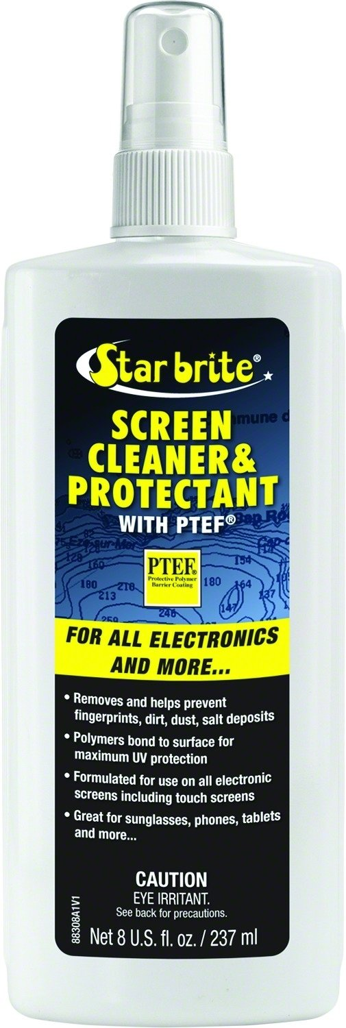 Star brite Screen Cleaner & Protectant With PTEF - 8 oz