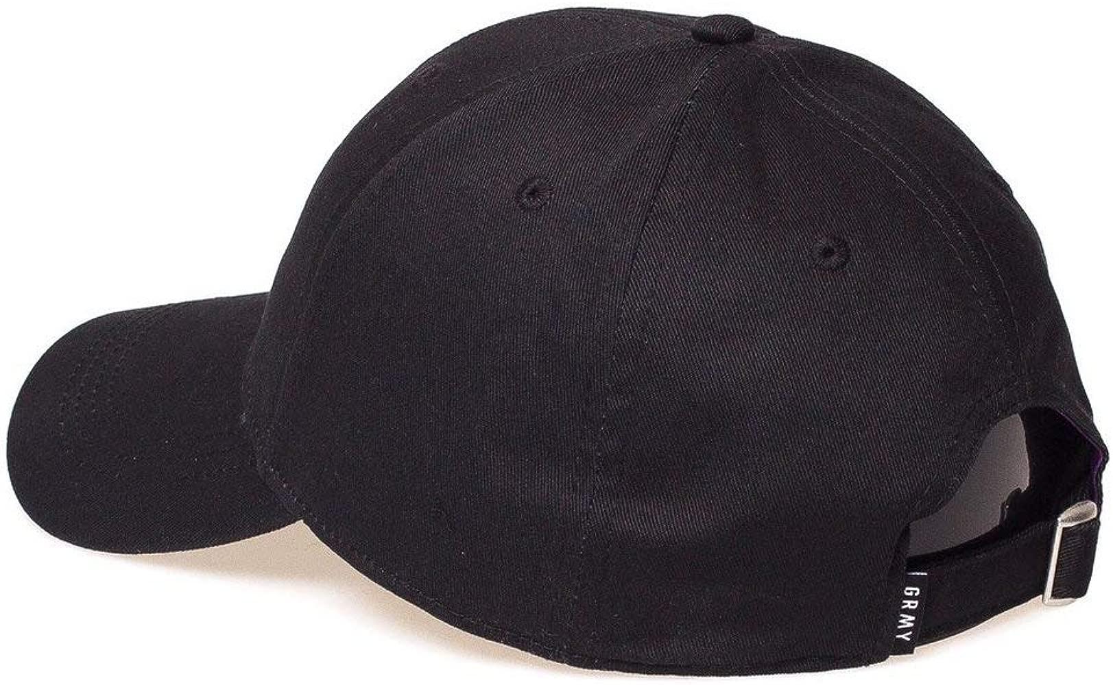 Grimey Gorra Brick Top Curved Visor Negro Ajustable: Amazon.es ...