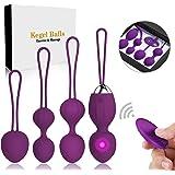Kegel Balls Ben Wa Balls Exercise Weights Kegel Exercise for Women Pelvic Floor Tightening Exercises,Beginners & Advanced Keg