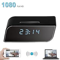 Pelay WiFi Hidden Clock Camera, Alarm Clock HD 1080P