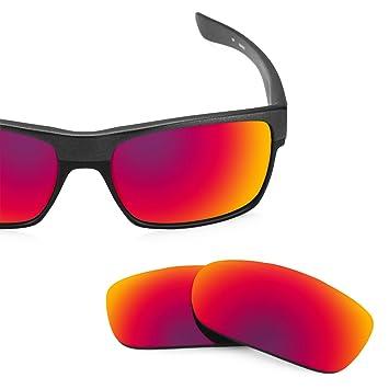 Lentes Revant polarizados para Oakley TwoFace (Sol de Medianoche) MirrorShield®