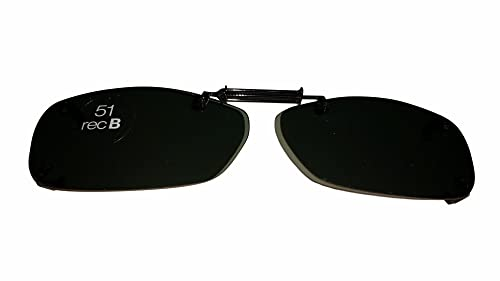 208d771f59 Image Unavailable. Image not available for. Color  Solar Shield Polarized  Clip On Sunglasses ...