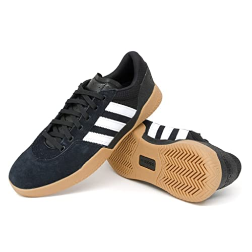 7a15187e1f2 adidas City Cup Core Black Footwear White Gum4 13UK  Amazon.co.uk ...