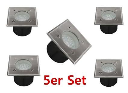 Gut bekannt 5er Set LED Bodeneinbauleuchte Bodeneinbaustrahler 1W 14LED OY28