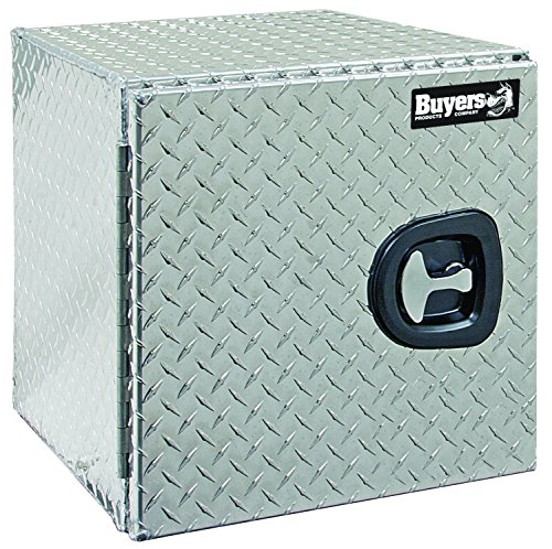 Buyers Products 1705200 Diamond Tread Aluminum Underbody Truck Box w/Barn Door (18x18x24 Inch) ()