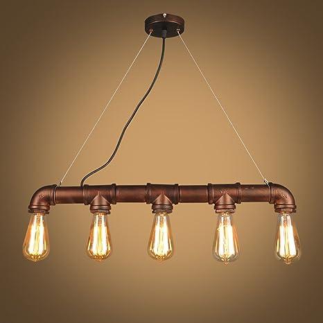 Lámpara de techo suspensión - Lámpara Industrial Vintage ...