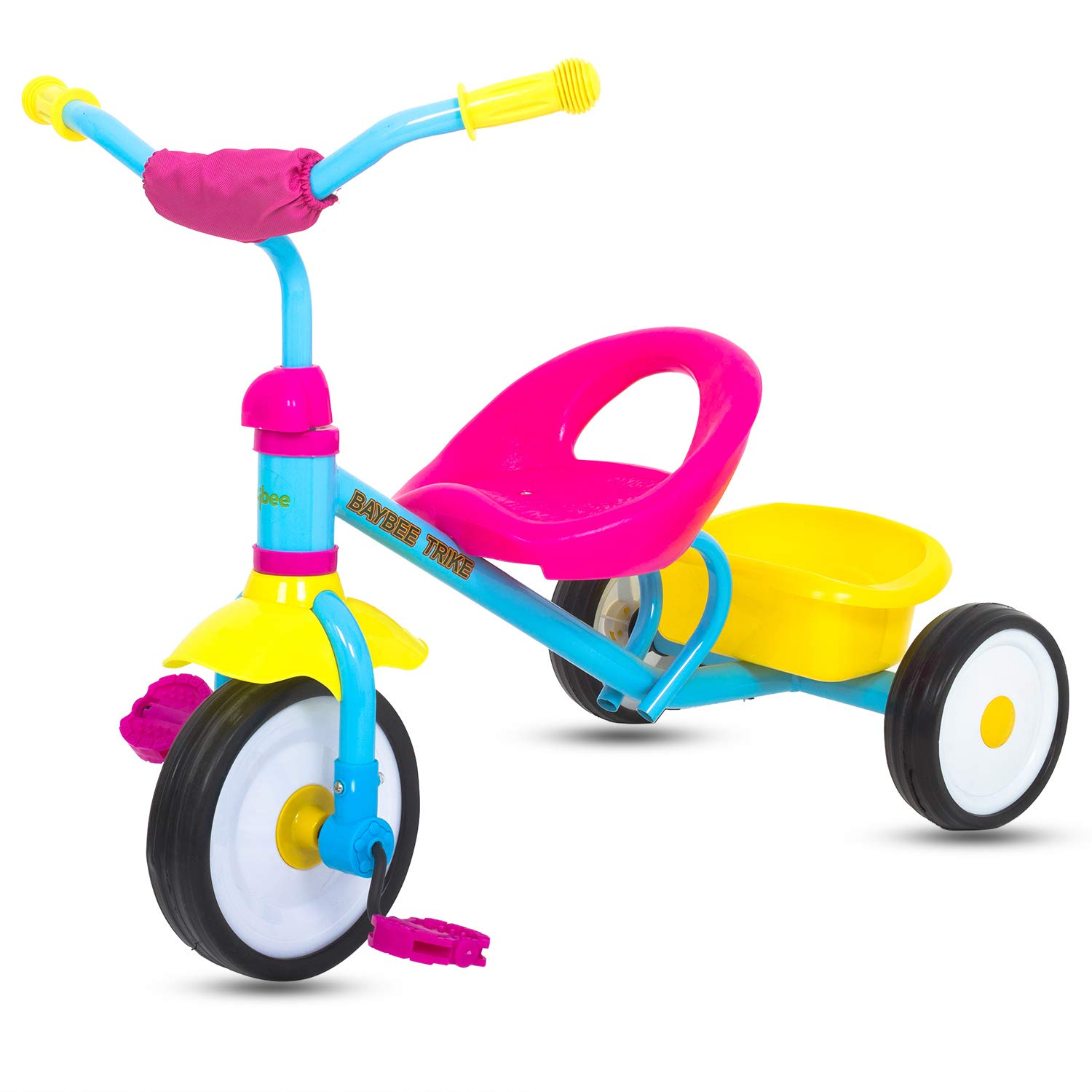 cadcf8e2e04 Buy Baybee First Ride Baby Tricycle for 1 Year Old Baby/Kids Cycle Tricycle  for Kids -Baby Tricycle for Kids with Storage Bin/Baby for 1 to 5 Years -  Pink ...