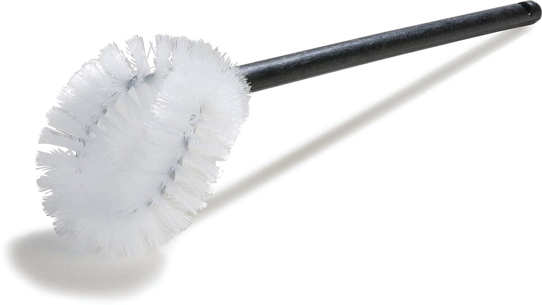 Carlisle Corporation Polypropylene Handle Case of 24 Case of 24 17 Overall Length 5 L x 4-1//2 W Brush Carlisle 36P502 Bowl Brush 5 L x 4-1//2 W Brush 17 Overall Length Polypropylene Bristles