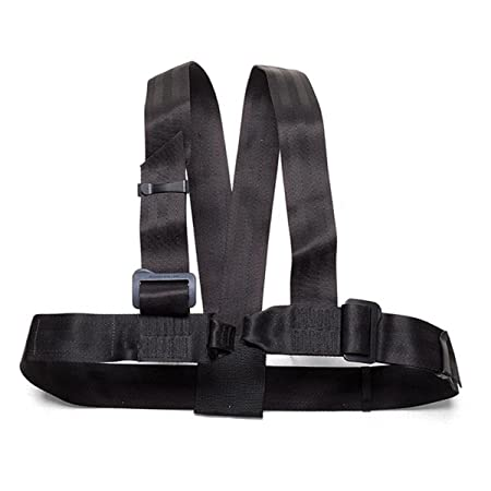 ABC Guide Chest Harness Black