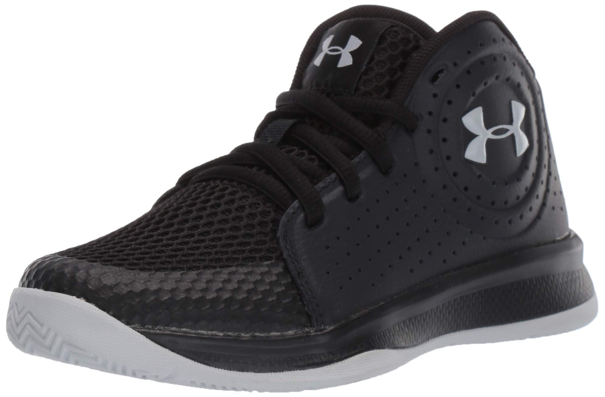 Under Armour Unisex Pre School Jet 2019 Basketball Shoe, Black, 2.5 M US Little Kid