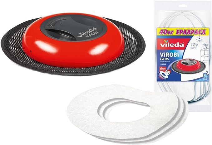 Vileda Virobi Slim polvo accesorio Robot con 40 almohadillas de ...