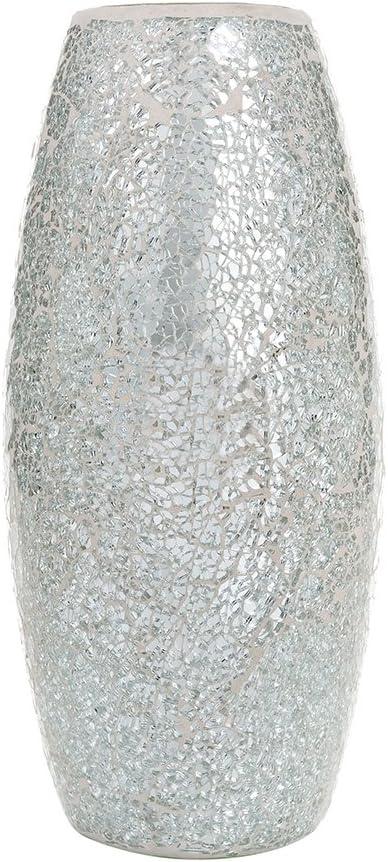Flower Vase Glitter Grey Room Sparkle Sparkles Glass Christmas Idea