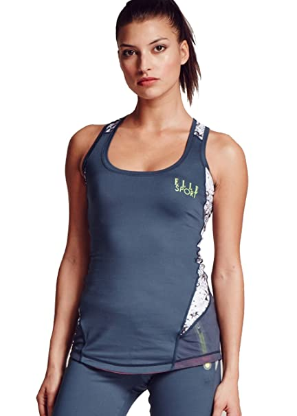 Ellesport t-shirt running fitness gym active training exercise tank top gilet