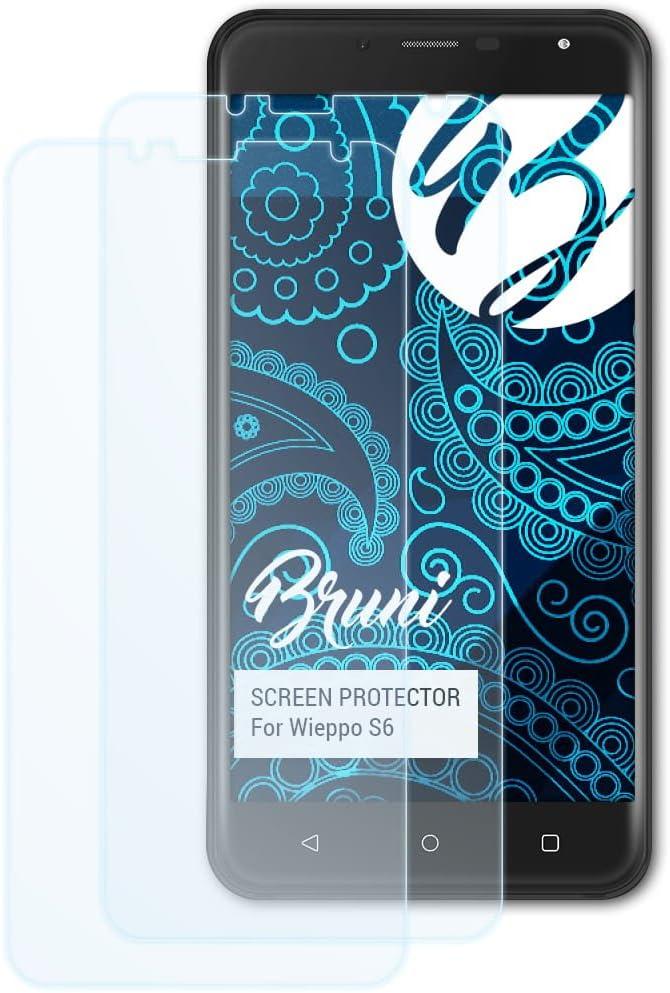 Bruni Película Protectora para Wieppo S6 Protector Película, Claro ...